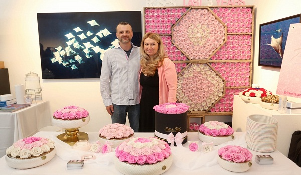 ETERNAL ROSES NY BLOOMS AT HAMPTONS SUMMER KICK OFF