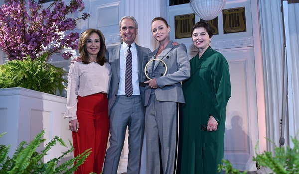 Stella McCartney, Isabella Rossellini, Norma Kamali, Fern Mallis at David Lynch Foundation Women of Vision