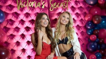 Romee Strijd and Victoria's Secret Bra Fit Experts Celebrate Body by Victoria in Dallas