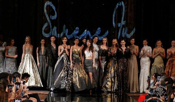 SERENE FU At New York Fashion Week Powered By Art Hearts Fashion NYFW
