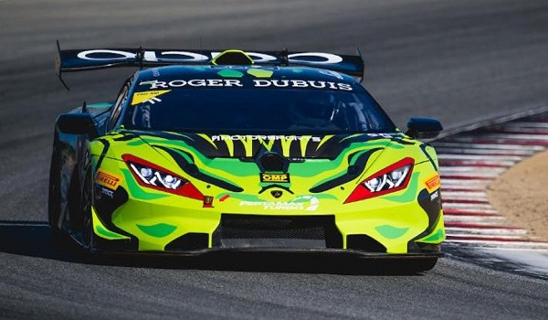 Spinelli, Michimi Score Poles for Lamborghini Super Trofeo North America at WeatherTeach Raceway Laguna Seca