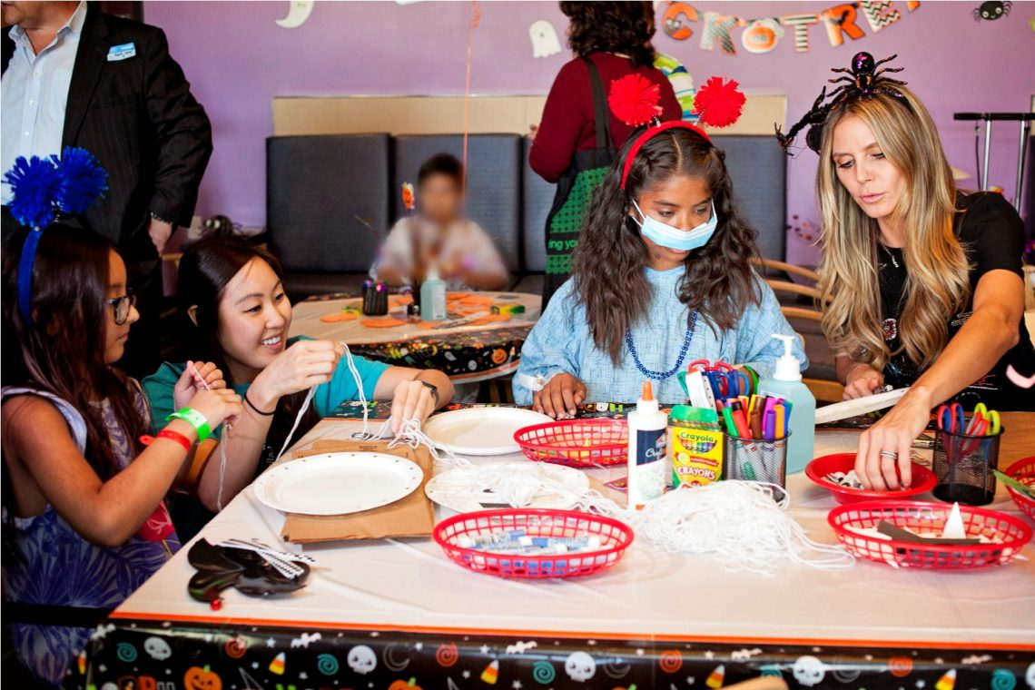 Heidi Klum and Party City Host Halloween Party at Children's Hospital Los Angeles