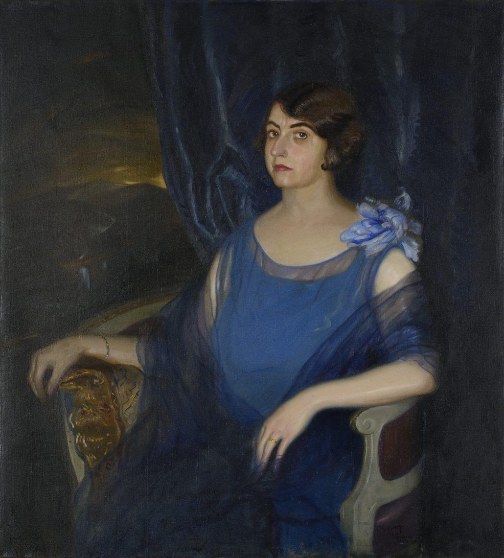 Lam, Portrait, 1929