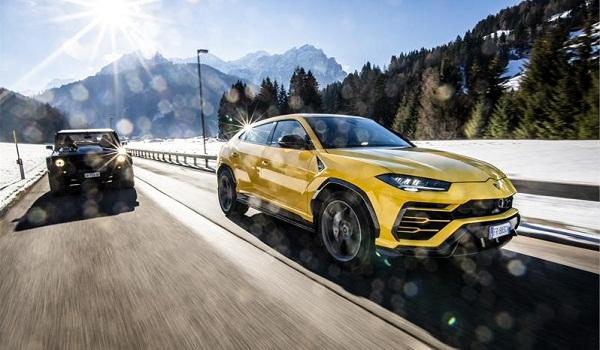 Lamborghini Christmas Drive 2018