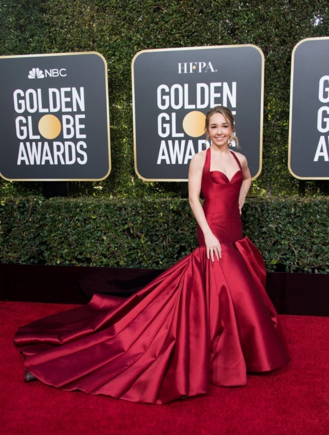 THE GOLDEN GLOBE AWARD ARRIVALS AND RED CARPET