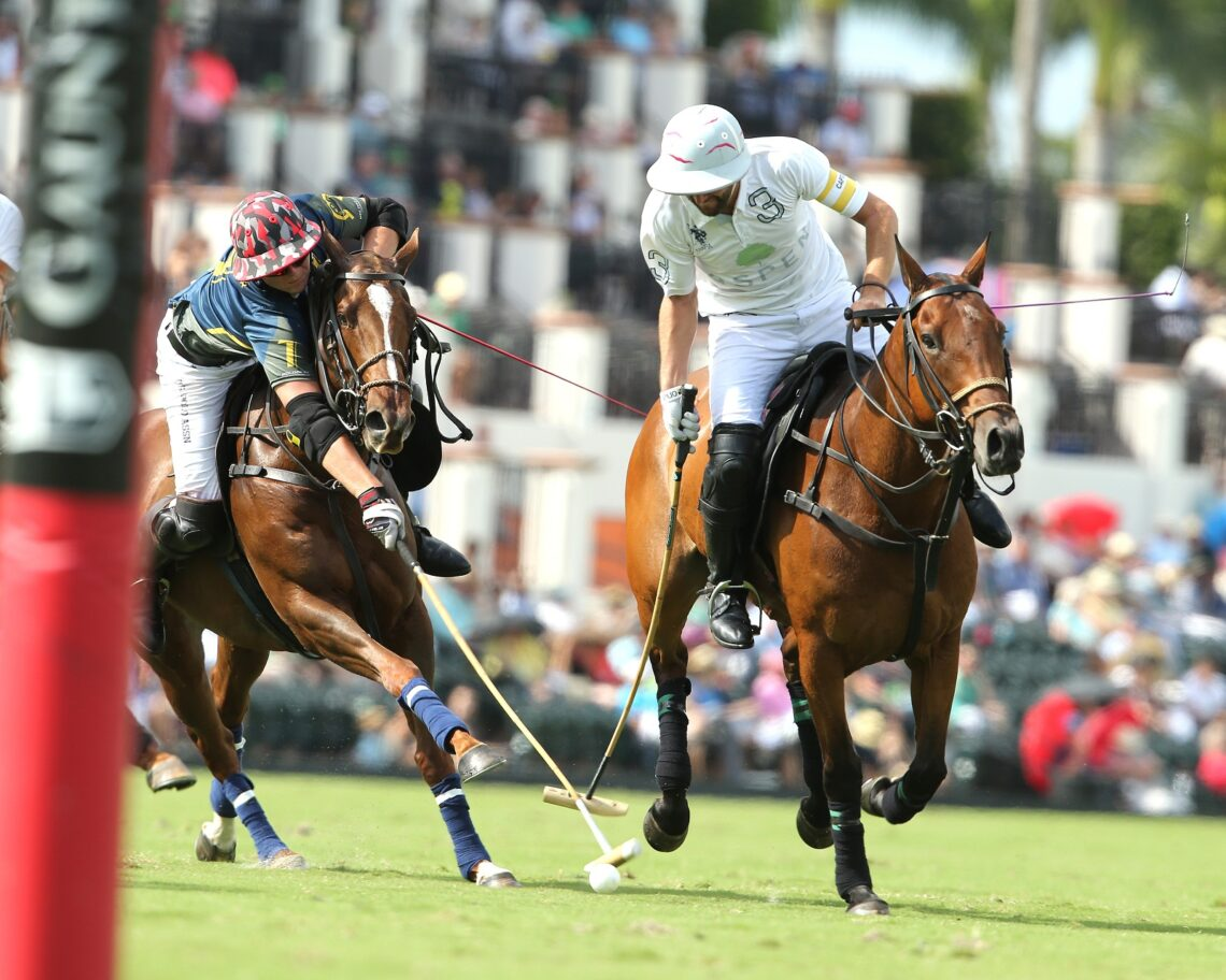 The feature game of the week on the U.S. Polo Assn. Field 1 produced a strong game from Aspen. ©Alex Pacheco
