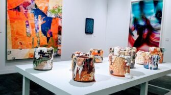 """RYAN GANDER WINS PREMIER """"POMMERY PRIZE"""" AT THE ARMORY SHOW"""