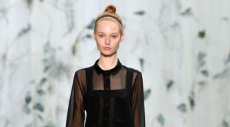 LEE MATHEWS at Mercedes-Benz Fashion Week Australia
