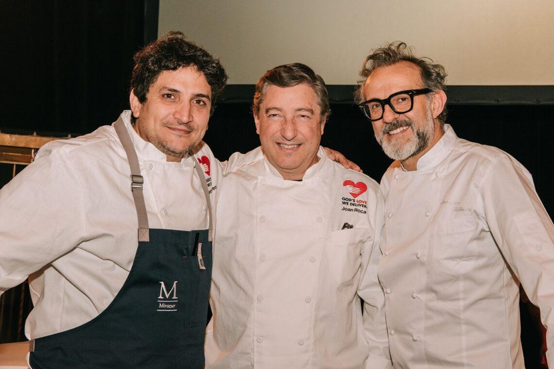Mauro Colagreco, Joan Roca, Massimo Bottura