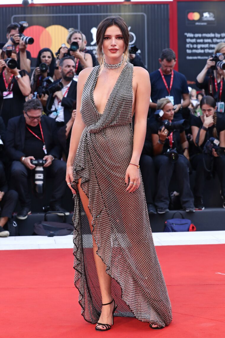 """Actress Bella Thorne dazzled in Avakian Fine Jewellery at the 76th Venice Film Festival for the screening of """"Joker"""""""