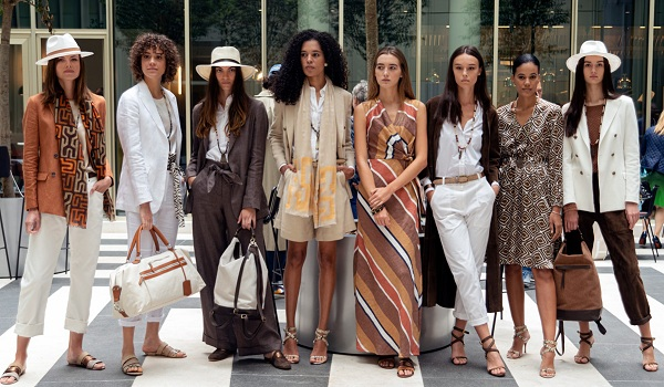 Eleventy's spring/summer women's collection: a journey to Africa on sophisticated lightness
