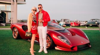 THE MOST EXCLUSIVE ANNUAL VINTAGE CAR AND CONTEMPORARY ART EVENT