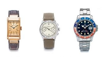 Sotheby's Auction of Amazing Vintage Timepieces