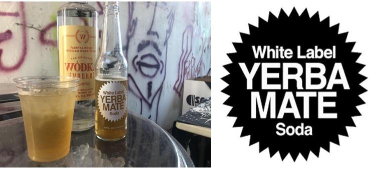 WHITE LABEL YERBA MATE SODA