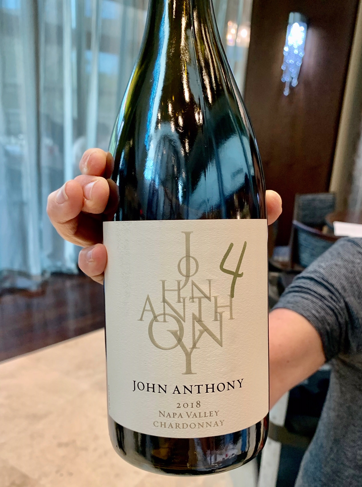 Napa Valley AVA, California Chardonnay