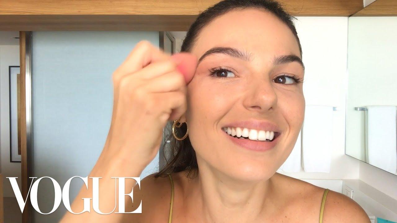 Ísis Valverde's Guide to Sun-Kissed Makeup, Brazilian Style | Beauty Secrets | Vogue