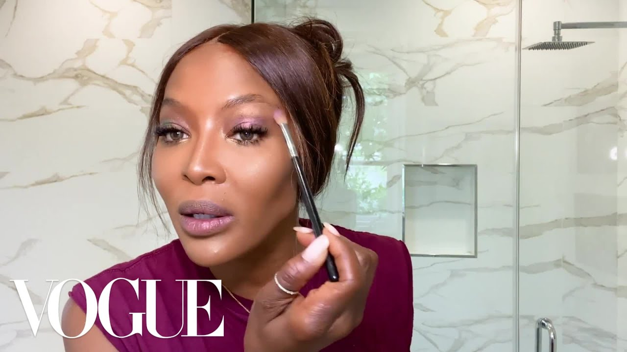 Naomi Campbell's 10-Minute Beauty Routine | Beauty Secrets | Vogue