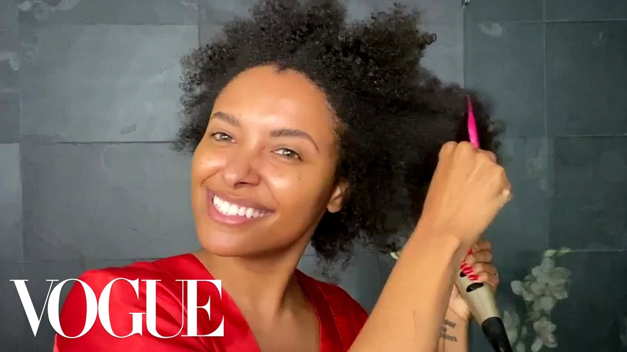 Kat Graham's Natural Hair Beauty Routine | Beauty Secrets | Vogue