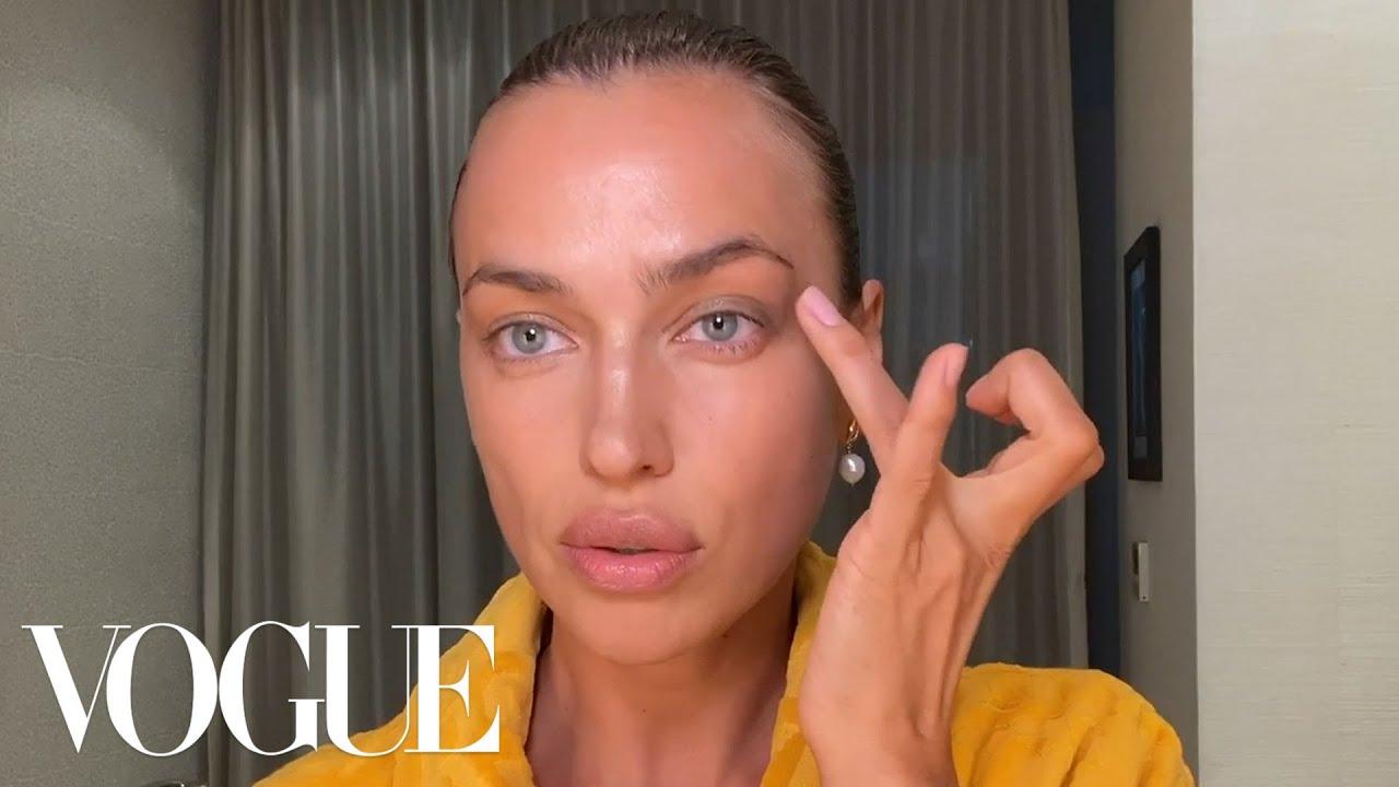 Irina Shayk's Guide to Fresh Skin & Full Brows   Beauty Secrets   Vogue