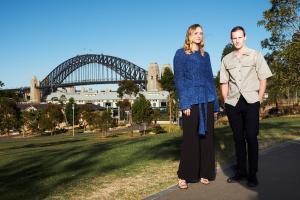 Gemma Ward and Dion Lee  Australian Fashion Laureate 2