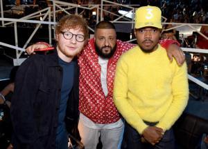 Ed Sheeran, DJ Khaled, & Chance the rapper