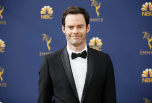 Bill Hader arrives at the 70th Primetime Emmy Awards on Monday, Sept. 17, 2018, at the Microsoft Theater in Los Angeles. Photo by Danny Moloshok