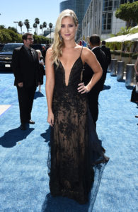 EXCLUSIVE Kristine Leahy arrives at the 70th Primetime Emmy Awards on Monday, Sept. 17, 2018, at the Microsoft Theater in Los Angeles. Photo by Dan Steinberg