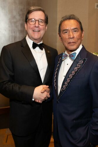 Academy_President_David_Rubin_and_Honorary_Award_recipient_Wes_Studi_attends_the_Academy's_2019_Annual_Governors_Awards_in_The_Ray_Dolby_Ballroom_on_Sunday,_October_27,_2019,_in_Hollywood,_CA.