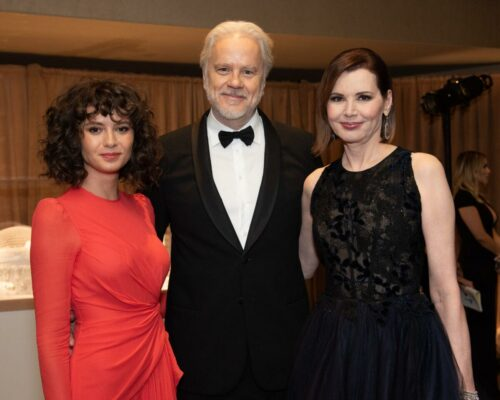 Gratiela_Brincus,_Tim_Robbins_and_Honoree_Geena_Davis_attend_the_Academy's_2019_Annual_Governors_Awards_in_The_Ray_Dolby_Ballroom_on_Sunday,_October_27,_2019,_in_Hollywood,_CA.