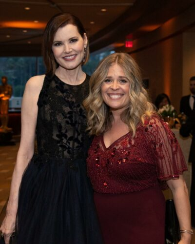 Honoree_Geena_Davis_and_Jennifer_Lee_attend_the_Academy's_2019_Annual_Governors_Awards_in_The_Ray_Dolby_Ballroom_on_Sunday,_October_27,_2019,_in_Hollywood,_CA.