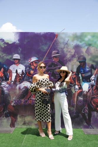 Carolina Silva  Carolina Delgado at World Polo League Beach Polo 2021 Credit Willy Dade