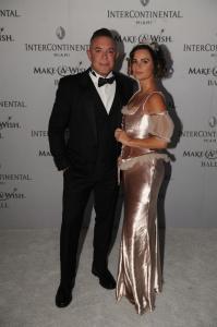 Shareef Malnik & Gabrielle Anwar