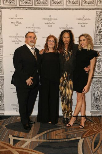 Frank and Denise Graziano, Steven Tyler and Aimee Preston