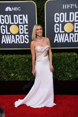Kristin Cavallari arrives at the 77th Annual Golden Globe Awards at the Beverly Hilton in Beverly Hills, CA on Sunday, January 5, 2020.