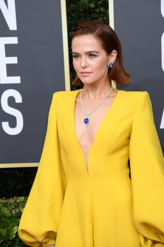 Zoey Deutch arrives at the 77th Annual Golden Globe Awards at the Beverly Hilton in Beverly Hills, CA on Sunday, January 5, 2020.