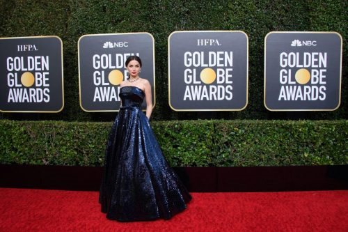 Nominee, Ana de Armas, arrives at the 77th Annual Golden Globe Awards at the Beverly Hilton in Beverly Hills, CA on Sunday, January 5, 2020.