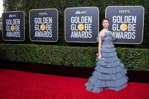 Thomasin McKenzie arrives at the 77th Annual Golden Globe Awards at the Beverly Hilton in Beverly Hills, CA on Sunday, January 5, 2020.