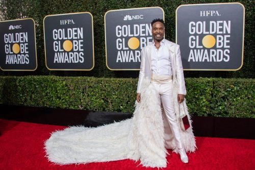 Nominee, Billy Porter, arrives at the 77th Annual Golden Globe Awards at the Beverly Hilton in Beverly Hills, CA on Sunday, January 5, 2020.
