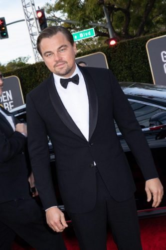Nominee, Leonardo DiCaprio, arrives at the 77th Annual Golden Globe Awards at the Beverly Hilton in Beverly Hills, CA on Sunday, January 5, 2020.