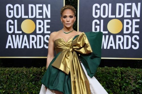 Jennifer Lopez, arrives at the 77th Annual Golden Globe Awards at the Beverly Hilton in Beverly Hills, CA on Sunday, January 5, 2020.