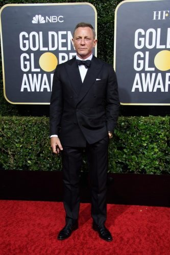 Nominee, Daniel Craig, arrives at the 77th Annual Golden Globe Awards at the Beverly Hilton in Beverly Hills, CA on Sunday, January 5, 2020.