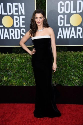 Rachel Weisz arrives at the 77th Annual Golden Globe Awards at the Beverly Hilton in Beverly Hills, CA on Sunday, January 5, 2020.