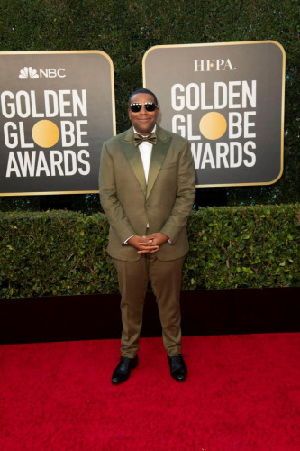 Kenan Thompson arrives at the 78th Annual Golden Globe Awards at the Beverly Hilton in Beverly Hills, CA on Sunday, February 28, 2021.