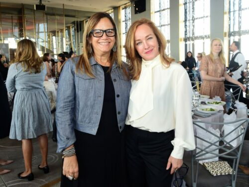 Guests attend the Academy of Motion Picture Arts & Sciences' Women's Initiative New York luncheon