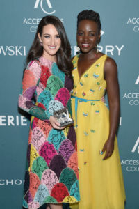 Micaela Erlanger, Lupita Nyong'o at Accessories Council hosts the 22nd Annual ACE Awards