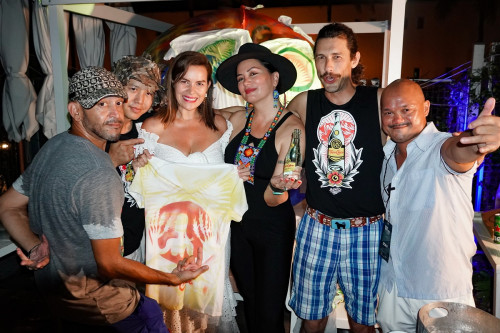 A Ballsy Endeavor, Tom Franco and Team at Miami Swim Week The Shows by DCSW