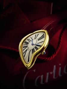 9697 Cartier, Limited Edition Yellow Gold Asymmetric Wristwatch preview