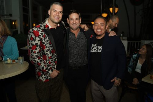 Gideon Kimbrell, Michael Gongora, Miguel Paredes