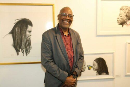 Artist Anthony Burks Sr