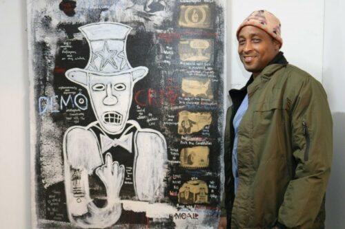 Artist Ape aka MOAL